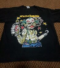 WHITE ZOMBIE Vintage T Shirt 90's Tour Concert 1995 Human Oddities Metal XL