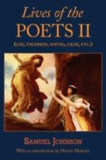 Lives of the Poets II (Gay, Thomson, Young, Gray, etc.) Johnson, Samuel Paperba
