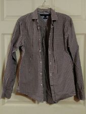 Tommy Hilfiger long sleeve checked button up   size s