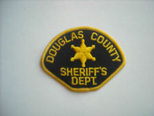 """Vintage""  Douglas County Colorado Sheriff Police Sleeve Patch"