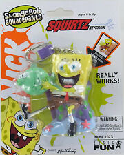 SPONGEBOB SquarePants SQUIRTZ Water Gun Keychain Keyring Sponge Bob NEW Retired