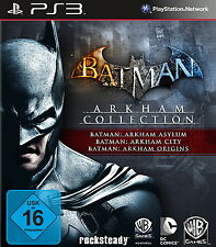 Sony Playstation 3 PS3 Spiel Batman: Arkham Collection