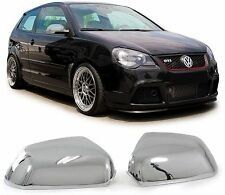 CHROME FINISH MIRROR COVERS FOR THE VW POLO 9N3 & SKODA OCTAVIA II 1Z3 1Z5 MODEL