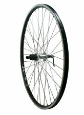 700c Rear Hybrid Bike Wheel Rigida 7/8 Speed Cassette Hub Wheel