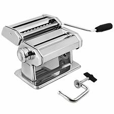 AMOS Stainless Steel Pasta Maker Machine Spaghetti Tagliatelle Lasagne Cutter