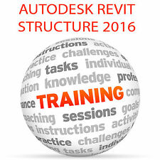 Autodesk Revit Structure 2016-Video Tutorial DVD de entrenamiento