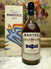 COGNAC MARTELL OLD BOTTLE 0,7 lt. 40° BOX VILLEMOT – 60s