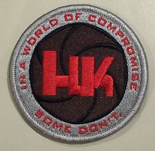 Heckler & Koch LOGO Embroider Velcro® Patch P7 MP5 P30 VP9 VP40 SP5K SL8 HK45