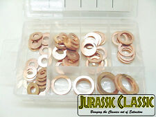 """Fit Olds Caddy 81PC 1/4""""- 5/8""""Brake Hose Caliper Copper Sealing Washer Kit  NOS"""