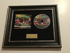 SIGNED/AUTOGRAPHED STEEL PANTHER - LOWER THE BAR FRAMED CD PRESENTATION