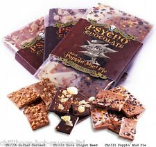 """PSYCHO CHOCOLATE - WITH NAGA JOLOKIA CHILLI"" 3 x 100g Bars"