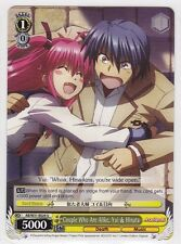 Weiss Schwarz TCG Angel Beats Re Edit Couple Alike Yui Hinata x4 ABW31-E024 U
