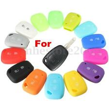 NEW 2 Button Silicone Remote Key Fob Case Cover For Renault Kangoo Master Trafic