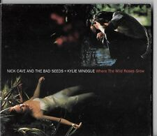 NICK CAVE AND THE BAD SEEDS + KYLIE MINOGUE - WHERE THE WILD ROSES GROW - CD EP