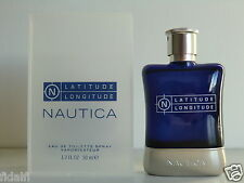 Nautica - Latitude Longitude EDT Nat Spray 50ml - 1.7 Oz NIB Retail Box