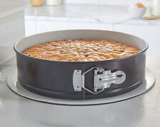 NON-STICK CERAMIC COATED SPRING FORM CAKE PAN WITH QUICK RELEASE CLASP - NEW