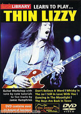 Lick Library Learn To Play Thin Lizzy lección Scott Gorham Gary Moore Guitar Dvd