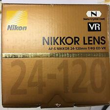 Nikon AF-S NIKKOR 24-120mm f/4GED VR Lens Nano Crystal Coat
