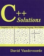 C++ Solutions: Companion to the C++ Programming Language (3rd Edition)