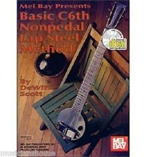 Basic C6th Nonpedal Lap Steel Method Learn Play GUITAR Music Book Online Audio
