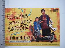 Aufkleber Sticker Verkehrswacht - Sicherer Sitz Kids - Mercedes Benz Aktion 6791