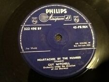 GUY MITCHELL . HEARTACHES BY THE NUMBER  .  1959
