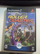 Theme Park Roller Coaster  (Sony PlayStation 2, 2000)