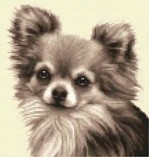 CHIHUAHUA dog complete counted cross stitch kit  *All materials supplied