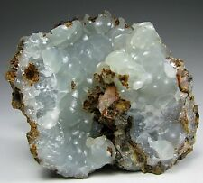Blue green SMITHSONITE crystals * Kelly Mine * New Mexico