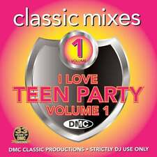 DMC Classic Mixes - I Love Teen Party Vol 1 Megamixes & Remixes Music DJ CD
