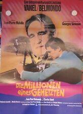 DIE MILLIONEN EINES GEHETZTEN Filmplakat Poster WA Jean-Paul Belmondo / Melville