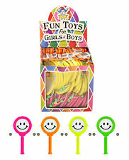 12x Mini Smiley Face Hand Drums Pinata Toy Loot/Wedding/Party Bag Fillers Kids