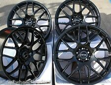 "19"" BLACK DTM ALLOY WHEELS FIT VOLKSWAGEN VW T5 T6 T28 T30 T32 VAN AMAROK"
