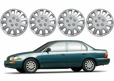 "(4) 14"" Replacement Hub Caps For 1993-1997 Toyota Corolla Wheel Rim New USA"