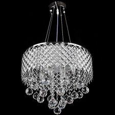 Crystal Indoor Ceiling 6-Light Chandelier Pendant Lamp Modern Lighting Fixtures