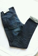 Bench Señoras Slim Dark Wash Denim Jeans W26 L32 BNWT