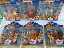 Lot (6) Pieces Playmates Chicken Run Figures NEW/SEALED