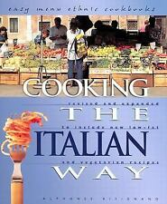 Cooking the Italian Way: To Include New Low-Fat and Vegetarian Recipes-ExLibrary