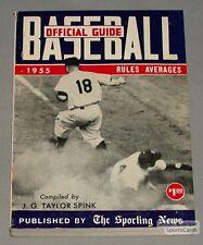 Rare 1955 The Sporting News Baseball Guide