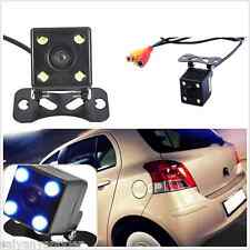 4LED CCD Night Vision Car Rear View Backup Reverse Parking Camera 140°Wide-angle