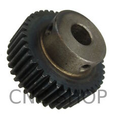 MOD 1.0 - 40T SPUR GEAR - 10mm BORE with SET SCREW RACK AND PINION & CNC MACHINE