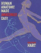 Human Anatomy Made Amazingly Easy by Christopher Hart (2000, Paperback) NEW