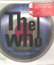 "THE WHO ""Quadrophenia: Live In London"" 5 Disc Box 2CD DVD 2 BLU-RAY sealed"