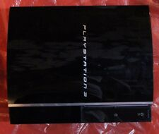 Sony Playstation 3 Black Console - Piano Style 80GB - Tested & Working - CECHK01