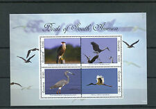 Guyana 2012 MNH Birds of South America 4v M/S II Caracara Heron Jabiru