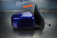 15 CHEVY COLORADO CANYON POWER PASSENGER RIGHT SIDE MIRROR DOOR SIDEVIEW BLUE