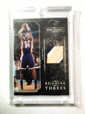 2010 11 Panini Elite Black Box Kobe Bryant Reigning Threes 3 Color Patch 02/24
