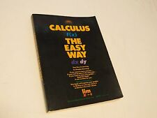 Calculus the Easy way practice Key learning Barron's book improve grades study