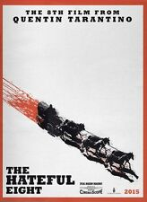 POSTER THE HATEFUL EIGHT 8 QUENTIN TARANTINO SAMUEL L. JACKSON KURT RUSSELL #5