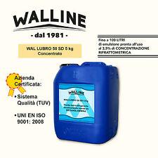 WALLINE Olio da taglio lubrorefrigerante emulsionabile lubrificante 5Kg OFFERTA!